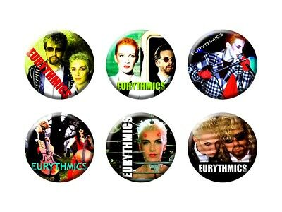 EURYTHMICS 6 new Buttons/Magnets