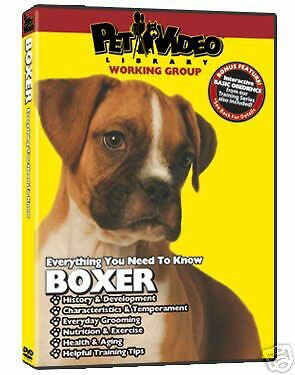 Pet Video Library Dog Breed Specific DVD Boxer