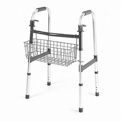 Invacare 6098 Rolling Medical Walker Rollator Basket Accessory Holder Tote