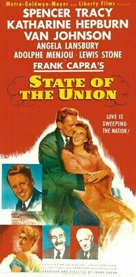 STATE OF THE UNION MOVIE POSTER Spencer Tracy VINTAGE 1
