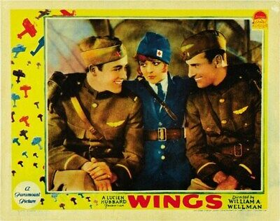 WINGS MOVIE POSTER Clara Bow RARE HOT VINTAGE 4