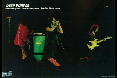DEEP PURPLE POSTER Live on Stage RARE HOT NEW