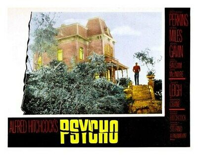 PSYCHO MOVIE POSTER Anthony Perkins Alfred Hitchcock 2