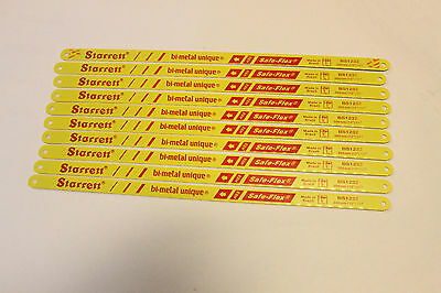 Starrett Heavy Duty Hacksaw Blades 10 Pack Of Quality Hack Saw Blades 18Tpi