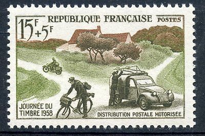 Stamp / Timbre France Neuf Luxe ** N° 1151 Journee Timbre 1958