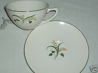 Edwin Knowles Forsythia Cup and Saucer L@@K