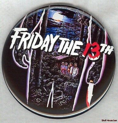 FRIDAY THE 13th CLASSIC 3 inch JASON magnet