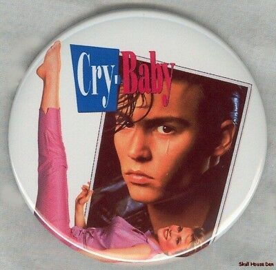 CRY BABY Johnny Depp, John Waters 3 inch magnet