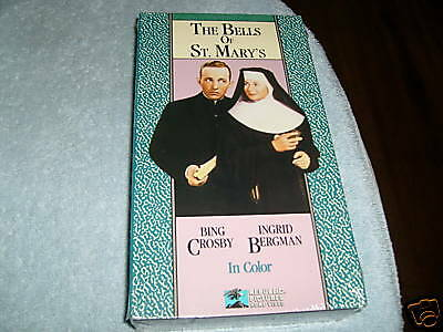 The Bells of St. Mary's (VHS, 1945) - BING CROSBY - NEW