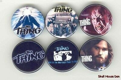 THE THING - John Carpenter 6 New Buttons/Magnets