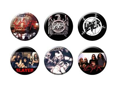 SLAYER new Buttons/Magnets