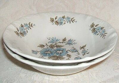 Sears Staffordshire BLOSSOMTIME Soup Cereal Bowls 2