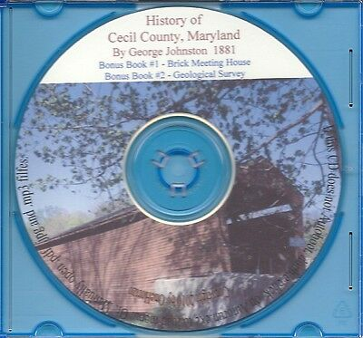 Cecil County Maryland History - MD Genealogy