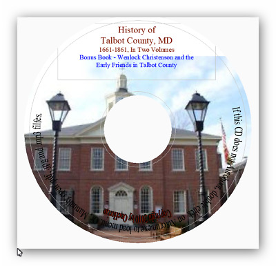 Talbot County Maryland History - MD Genealogy
