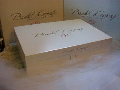 Ex Large Wedding Gown Preservation Kit Bridal Storage White
