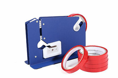 ORIGINAL SWIFT Blue Bag Neck Sealer Dispenser for Fruit and Veg Bread with Tape
