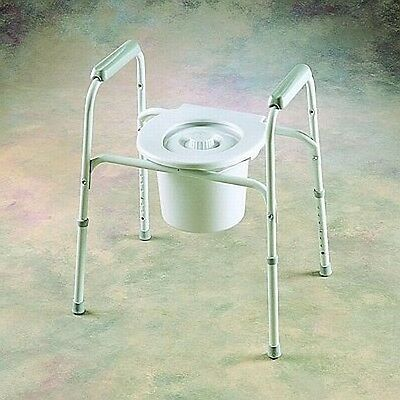 Invacare Safeguard Raised Toilet Seat Bed/side Commode