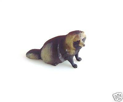 RARE Kaiyodo ChocoQ Animatales Series 7 Eastern Raccoon Figure