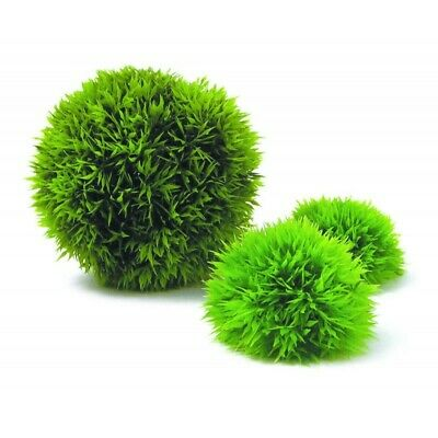 Reef One Biorb Aquatic Topiary Moss Ball Plant Pack 3Pk For Biorb/ Biube/ Baby