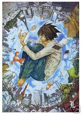 Death note(L Lawliet)Anime Poster P1