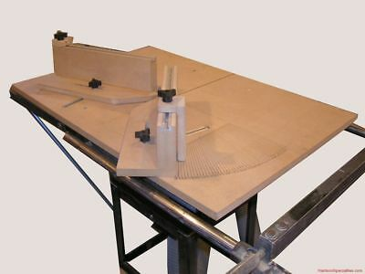 MITER SLED Woodworking Plans Plan Table Saw gauge