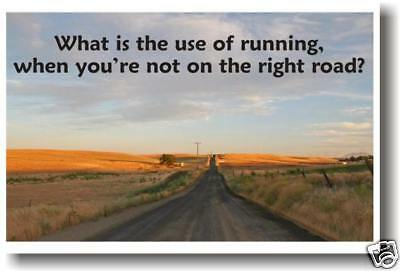 What is use of Running - Classroom Motivational  POSTER