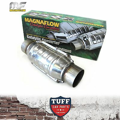 "Magnaflow 54306M 2.5"" 200 CPI Metal Core Stainless Steel Cat Catalytic Converter"
