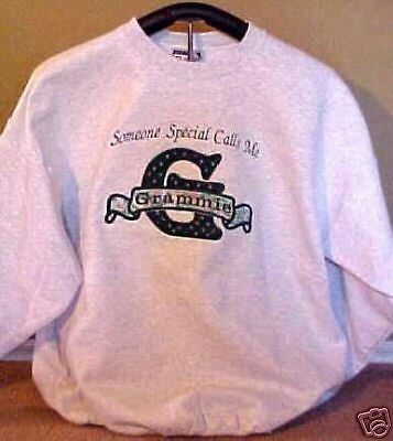 Sweatshirt for Grandma Mom Aunt Nana Mimi Grandpa Papa