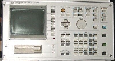 HP/Agilent 4145B Semiconductor Parameter Analyzer