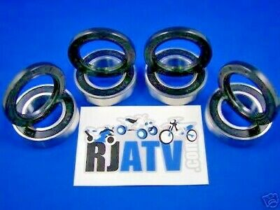 Suzuki LT250 LT4WD 250 QuadRunner Front and Rear Wheel Bearings and Seals