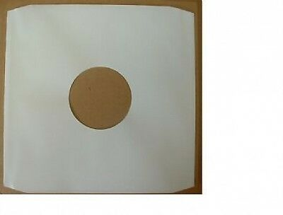 "25 x 12""/LP's WHITE PAPER INNER SLEEVES FREE P&P^"