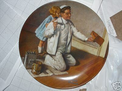 Norman Rockwell plate  The Painter #G189929