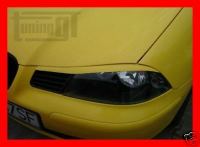 Seat Ibiza 6L Eyebrows Eyelids (Abs) - Tuning-Gt