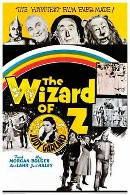The Wizard Of Oz Movie Poster - Collage - New 24X36