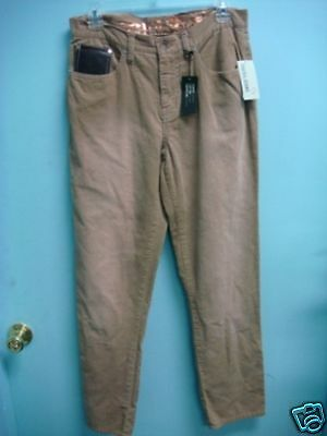 NWT Boys Beige Corduroy Jeans by Guess size 18