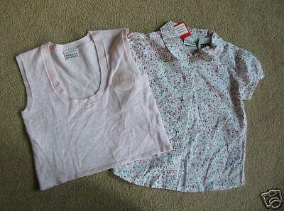 BNWT NEXT Flower Print Blouse & Tank Top 2-3 Years