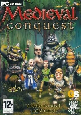 Medieval Conquest - PC Strategy (NEW & SEALED)