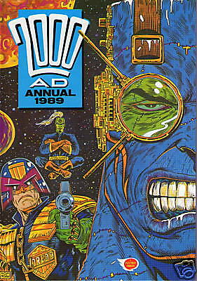 The 2000 Ad Annual 1989 / Fine- / Unclipped .