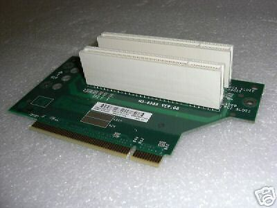 Compaq 323090-001 2 Slot PCI Backplane Board NEW