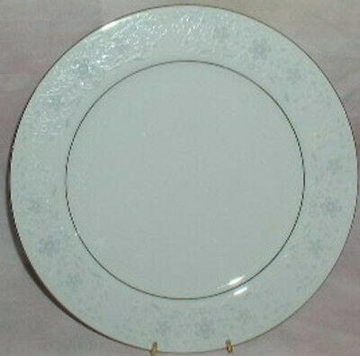 Crown Fine China Queens Lace Dinner Plate Plates Flower