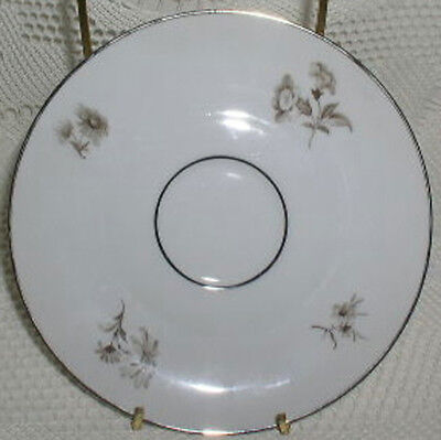 Tirschenreuth Bavaria Germany Gray Brown Roses Saucer