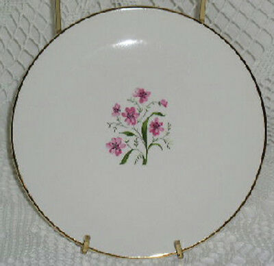 Knowles Spring Song Bread Plates Plate Pink Flowers