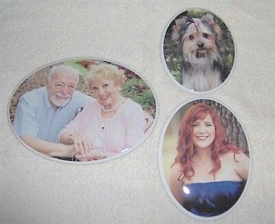 "4.35"" x 6""  Porcelain Ceramic Photo Headstone Picture Outdoors Cemetery"