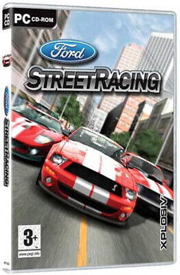 FORD STREET RACING - PC Driving Game - NEW