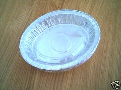 """100 x 7¼"""" Oval Pie Foil Dishes"""