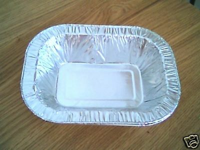 """100 x 7¾"""" Traditional Pie Foil Dishes"""