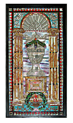 Stained and Jeweled Glass Window #4911