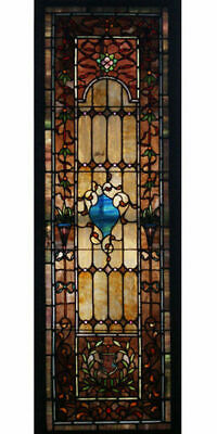 Leaded Stained Glass Window #6955