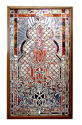 Stained Glass Window, with Beveled Glass #5454