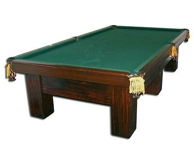 VINTAGE BRUNSWICK BILLIARDS Table Pool Table PicClick - Sportcraft 1926 pool table